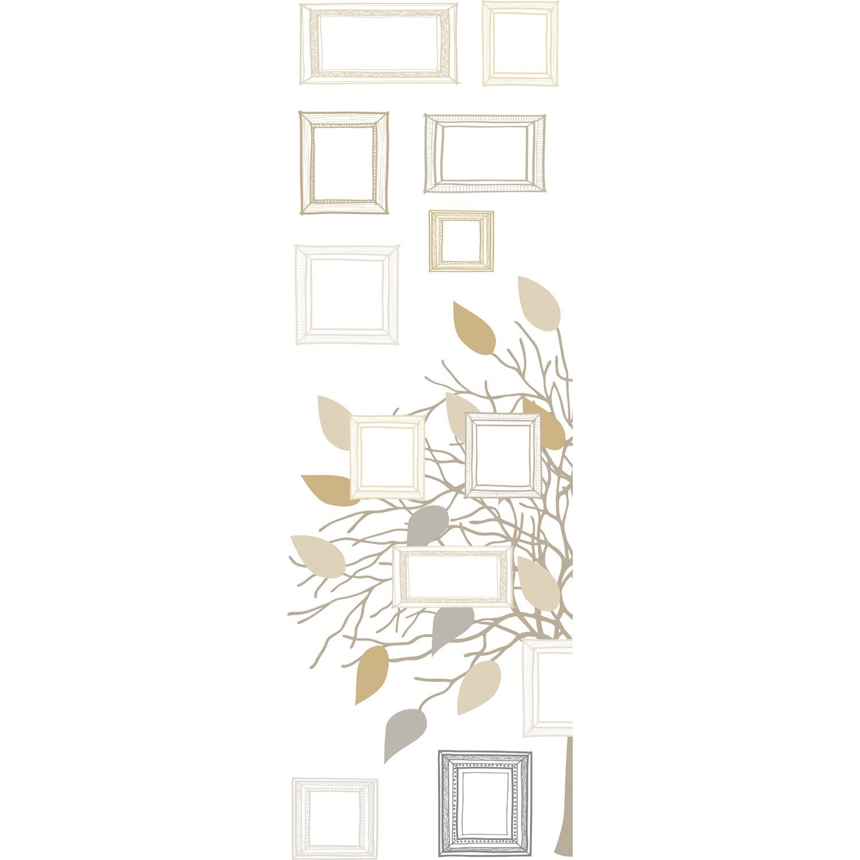 sticker arbre g n alogique 23 5 cm x 67 cm leroy merlin. Black Bedroom Furniture Sets. Home Design Ideas