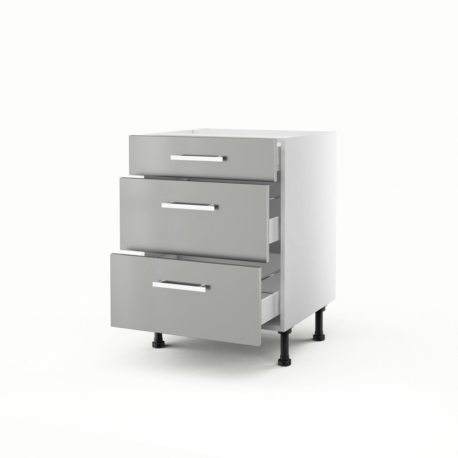 Buffet bas castorama for Meuble cuisine castorama