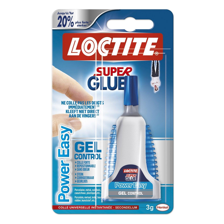 Colle glue liquide Super glue-3 LOCTITE, 3 g : Leroy Merlin