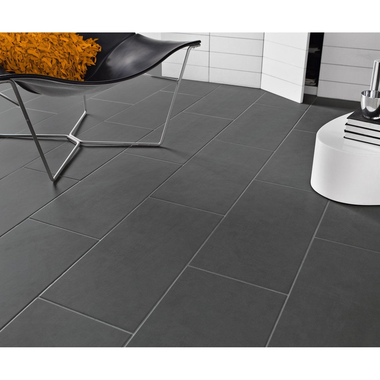 Carrelage sol et mur gris gris 1 effet b ton oslo x l for Carrelage exterieur gris