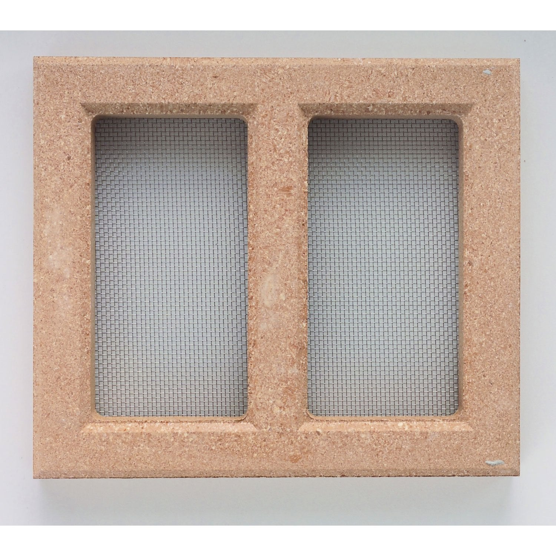 claustra d 39 a ration acier inoxydable x cm leroy merlin. Black Bedroom Furniture Sets. Home Design Ideas