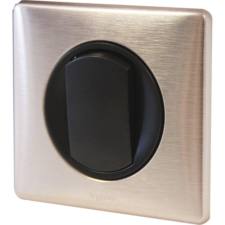 interrupteur va et vient c liane legrand copper leroy merlin. Black Bedroom Furniture Sets. Home Design Ideas