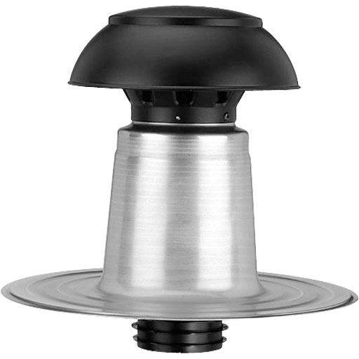 Sortie de ventilation pour toit plat IKO gris, l.340 mm x ...