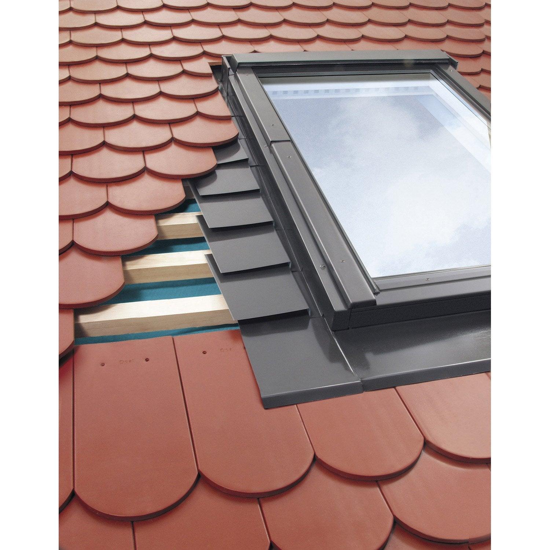 raccord pour fen tre de toit fakro egv gris leroy merlin. Black Bedroom Furniture Sets. Home Design Ideas