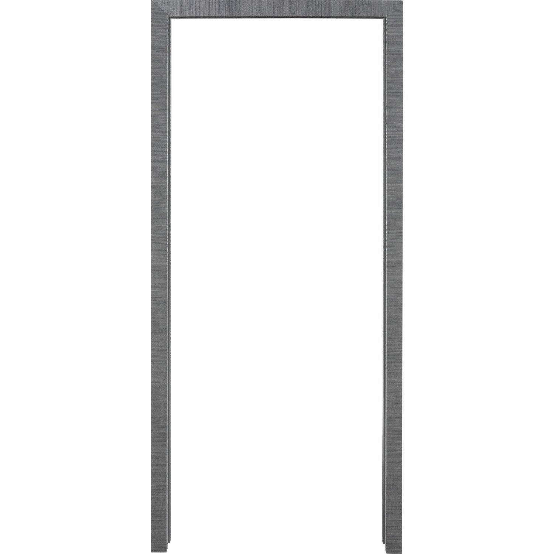 kit habillage pour porte coulissante galandage londres aspect ch ne gris leroy merlin. Black Bedroom Furniture Sets. Home Design Ideas