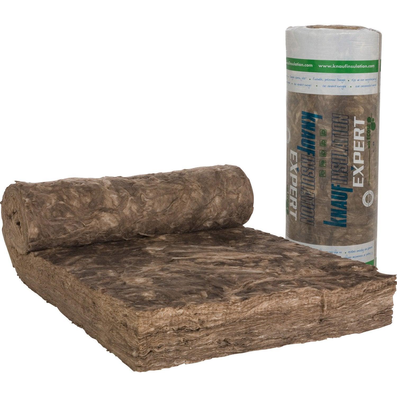 laine de verre nu knauf insulation 2 5 x 1 2 m ep 240 mm. Black Bedroom Furniture Sets. Home Design Ideas