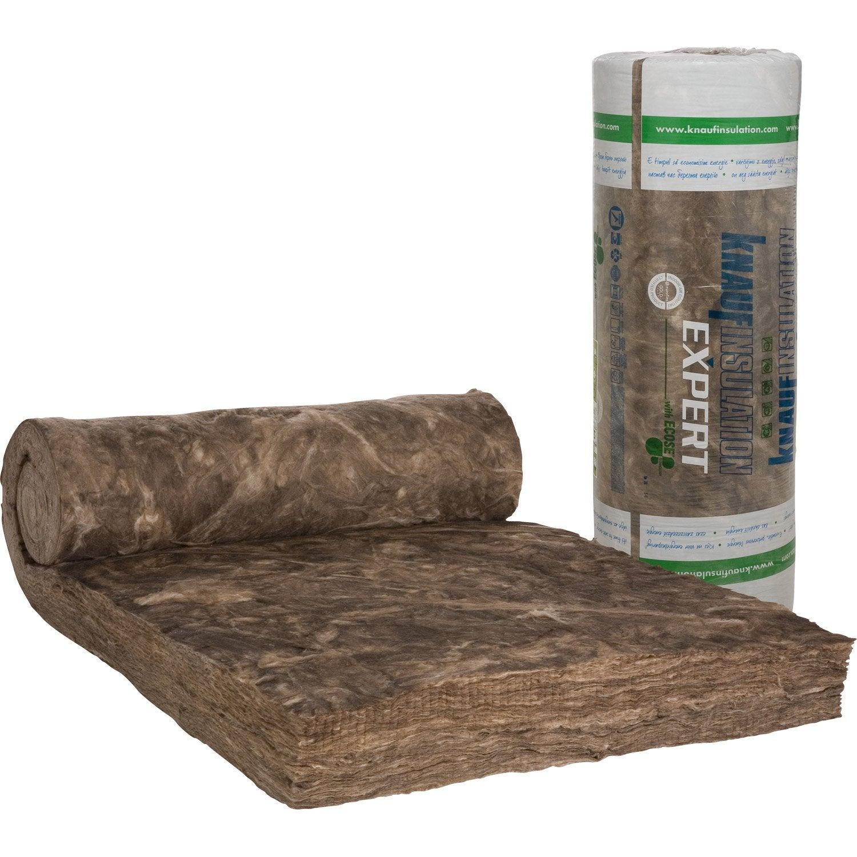 laine de verre nu knauf insulation 3 3 x 1 2 m ep 200 mm. Black Bedroom Furniture Sets. Home Design Ideas