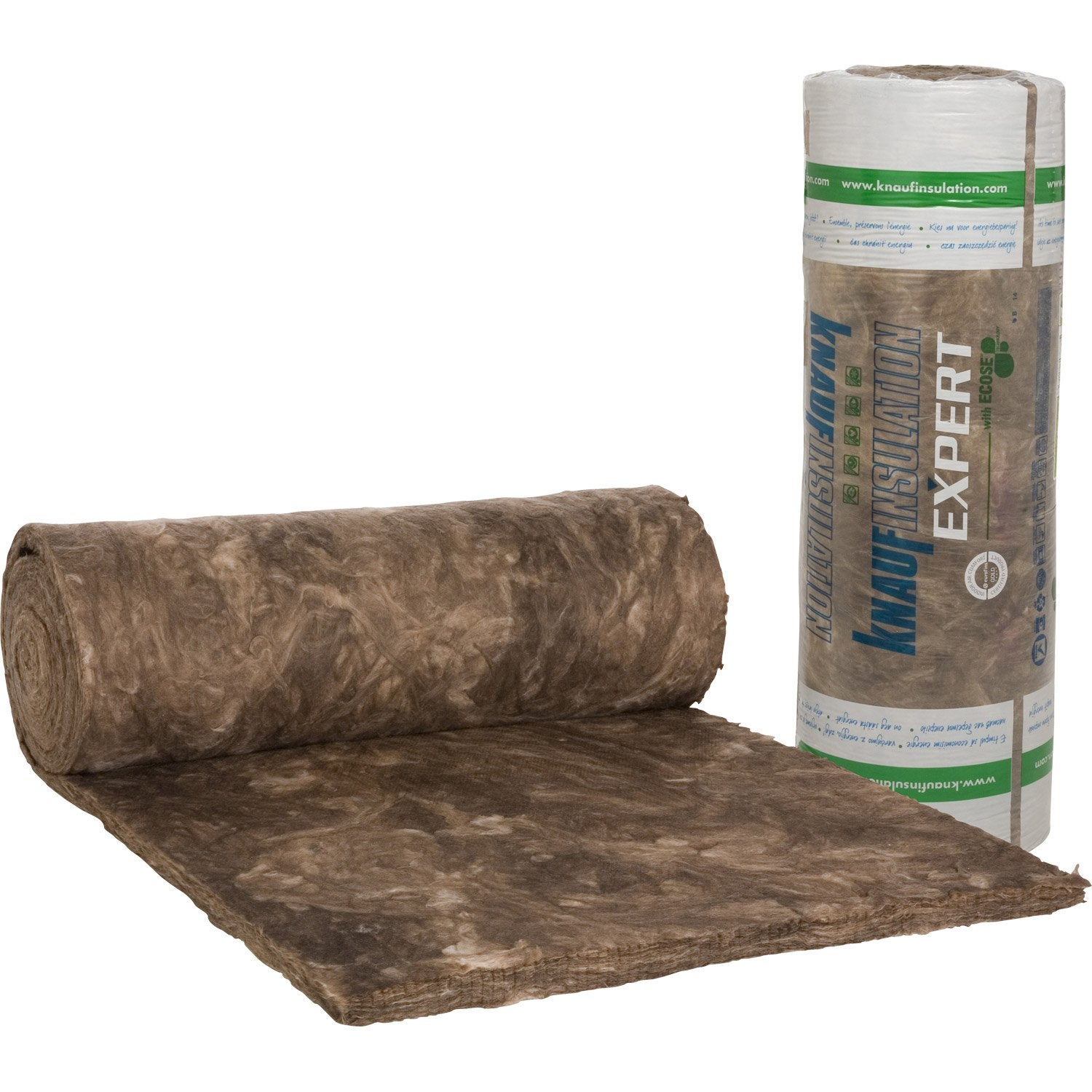Laine de verre nu knauf insulation 9 3 x 1 2 m ep 60 mm for Laine de verre vrac