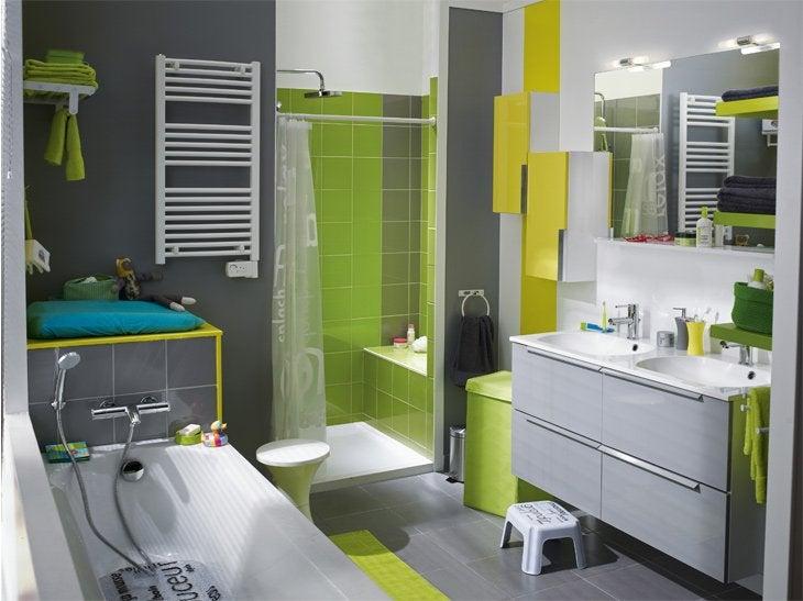 Meuble Salle De Bain Bois Leroy Merlin : Meubles de salle de bains pour petits et grands espaces