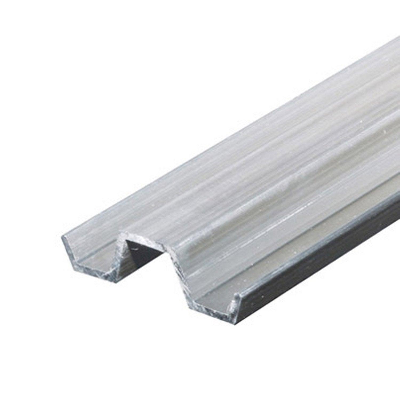 profil pour mod lisme aluminium brut l 1 m x l cm x h cm leroy merlin. Black Bedroom Furniture Sets. Home Design Ideas
