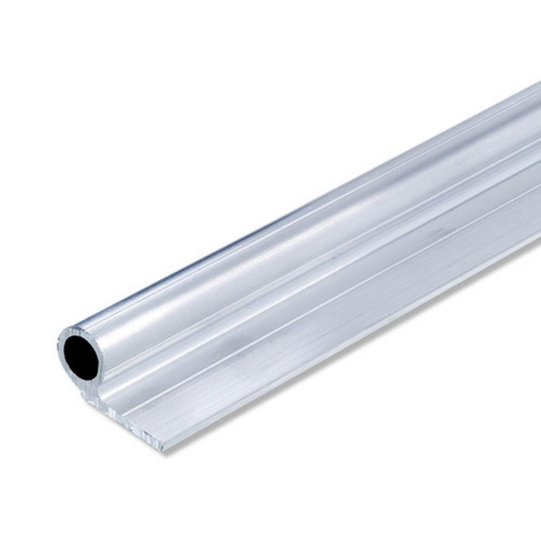 Charni re en aluminium brut long 1000 x larg 12 5 x ep 1 5 mm leroy merlin - Leroy merlin charniere ...