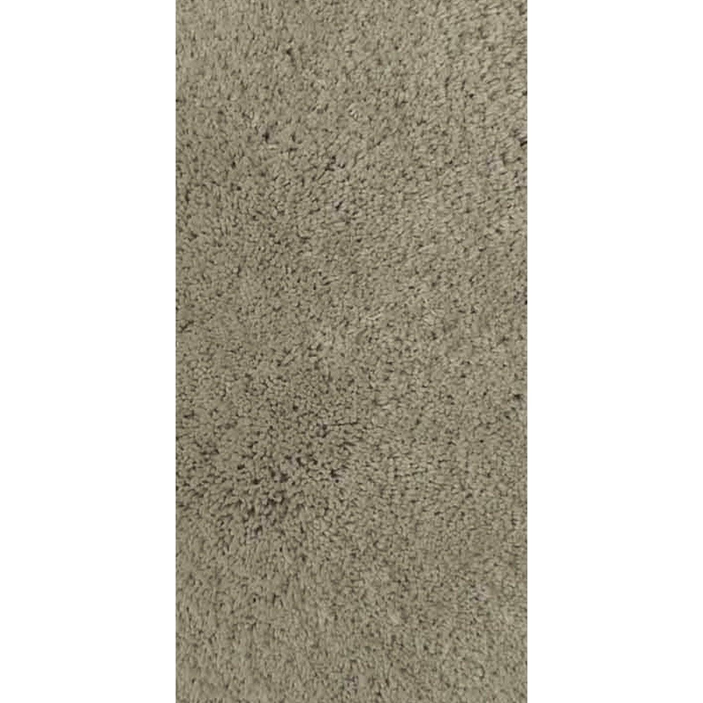 Tapis shaggy agathe gris galet n 6 120x60 cm leroy merlin - Galet leroy merlin ...
