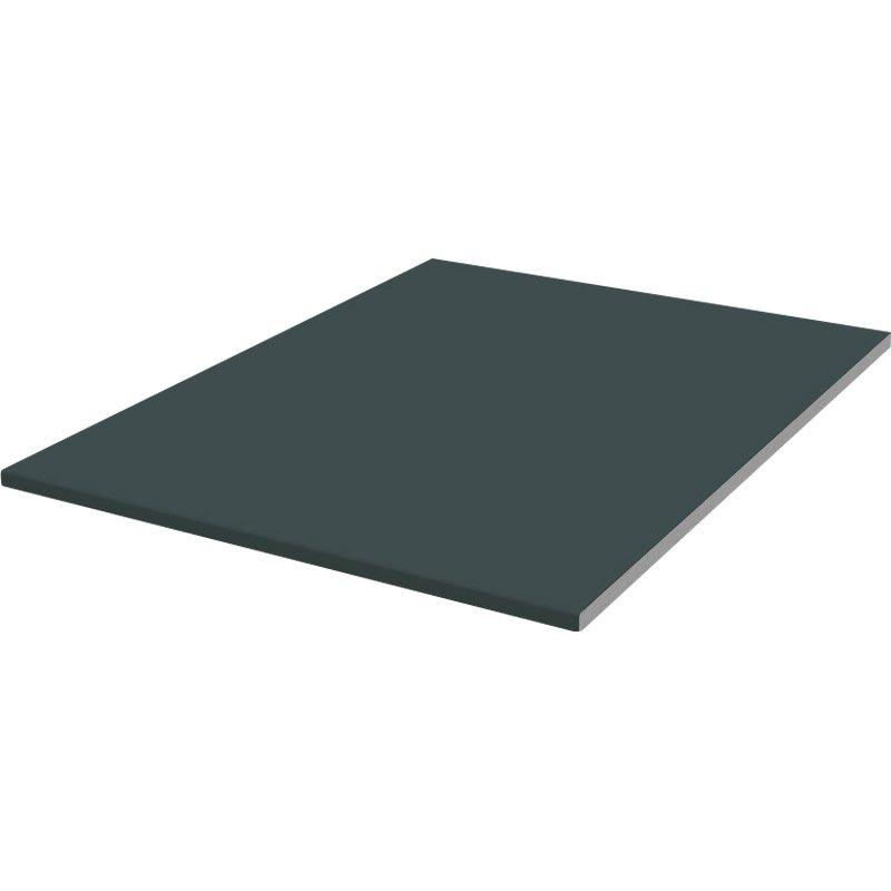 planche plate pvc gris graphite 3 m leroy merlin. Black Bedroom Furniture Sets. Home Design Ideas