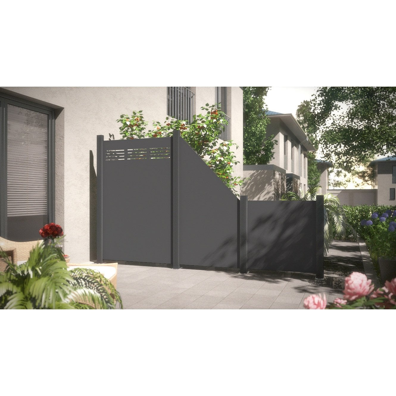 panneau composite aluminium occultant 2380 x. Black Bedroom Furniture Sets. Home Design Ideas