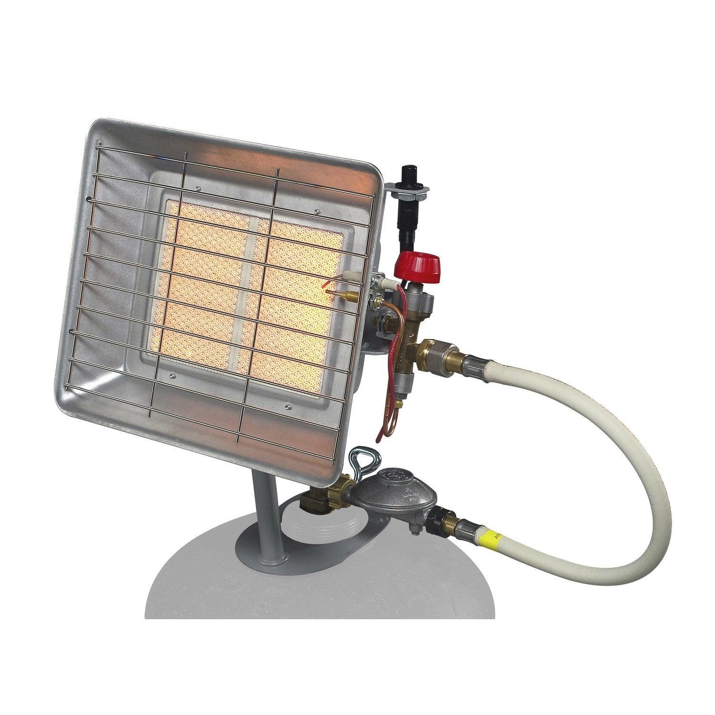 Chauffage gaz brasero infrarouge eno pro pr4213 4 2 for Chauffage exterieur terrasse castorama