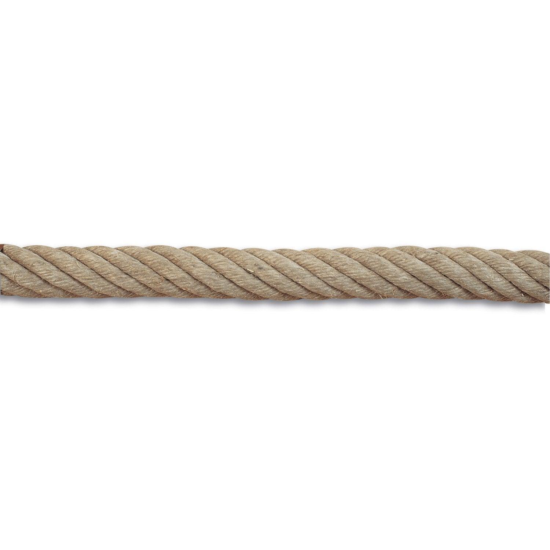 Corde de rampe et accessoires en chanvre diam 32 mm - Accessoires rideaux leroy merlin ...