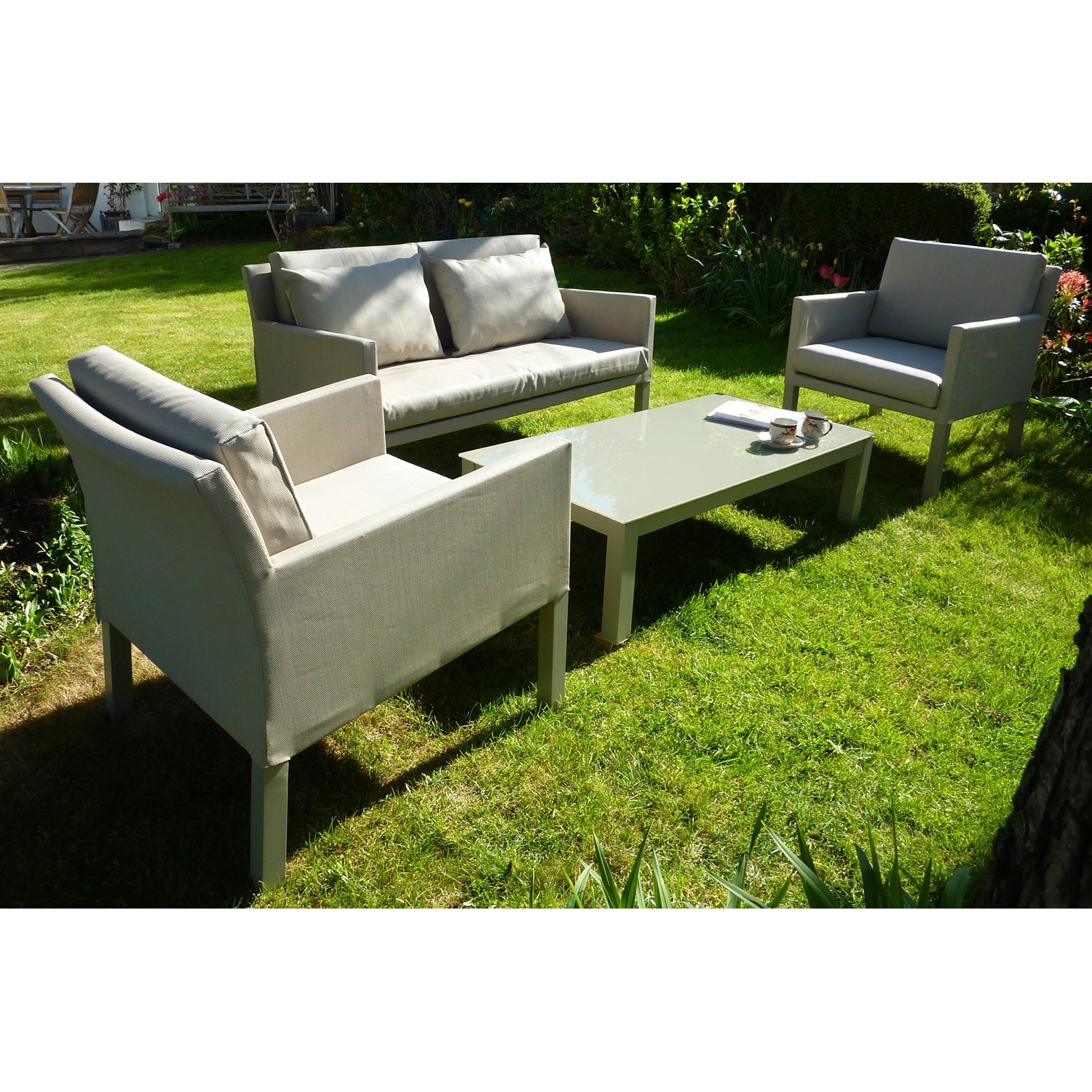 Salon jardin alu leroy merlin - Leroy merlin table jardin ...