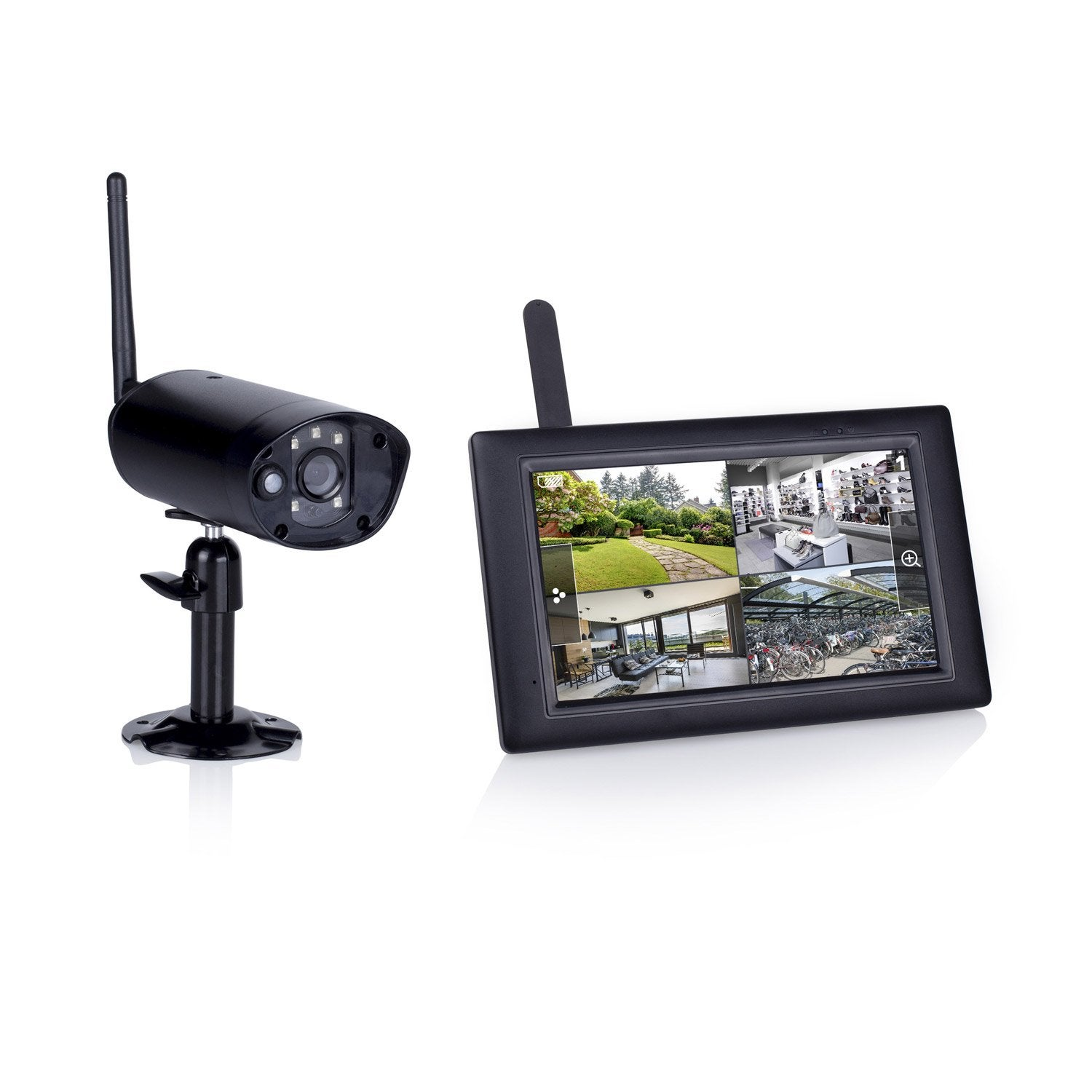 Kit de vid osurveillance connect sans fil int rieur - Camera factice leroy merlin ...