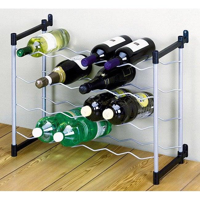 Casier de 24 bouteilles en acier plastifi leroy merlin - Casier a bouteilles leroy merlin ...