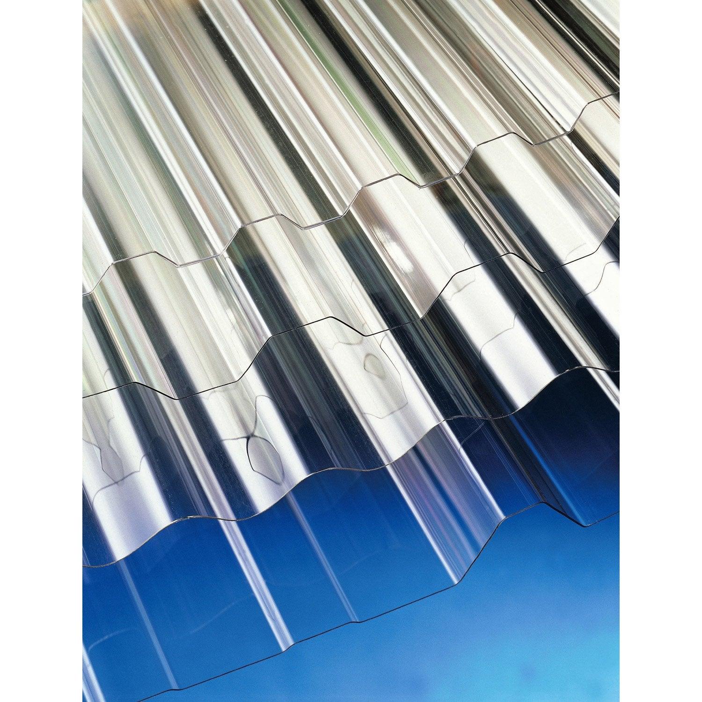 Plaque polycarbonate pour plaque acier 63e 3 x m - Polycarbonate leroy merlin ...