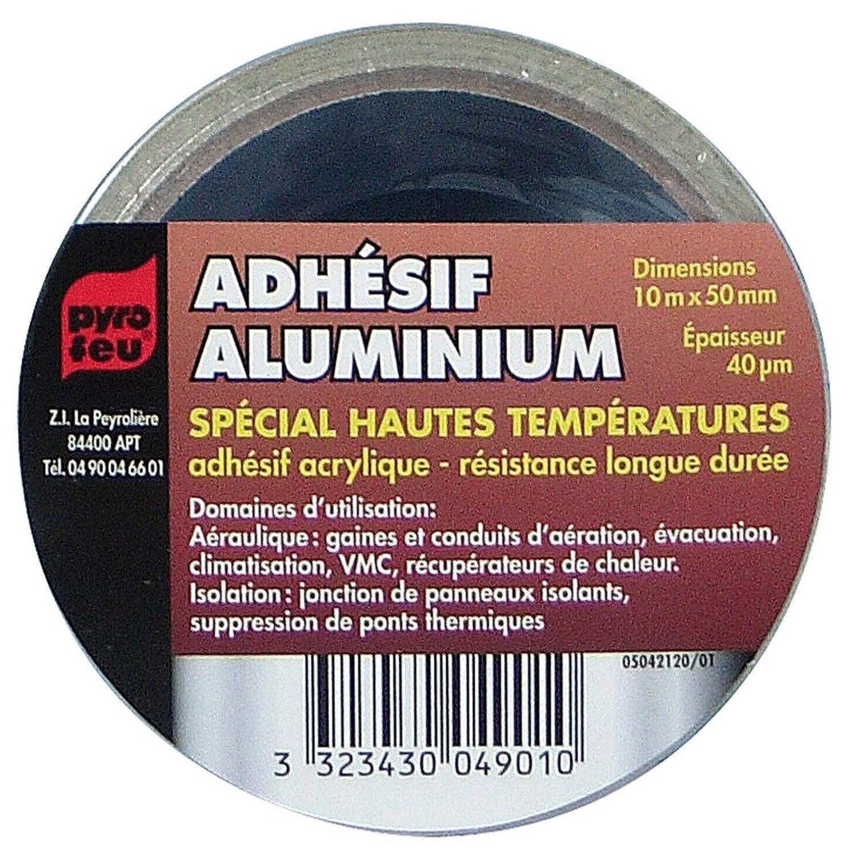 ruban adh sif aluminium 10 m pyrofeu leroy merlin. Black Bedroom Furniture Sets. Home Design Ideas