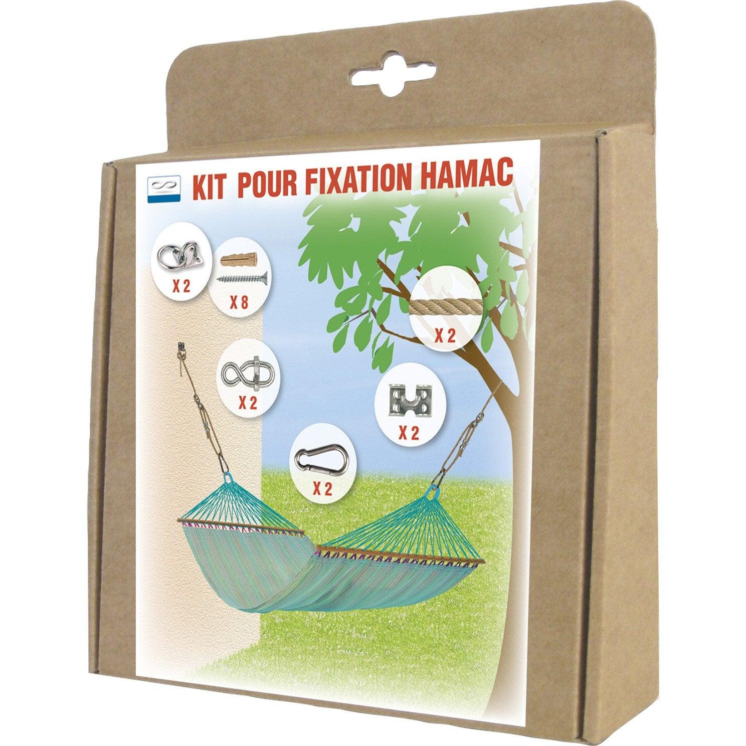 Kit fixation hamac pas cher - Hamac support bois pas cher ...