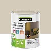 Peinture brun gatsby 6 LUXENS Couleurs intérieures satin 0.5 l