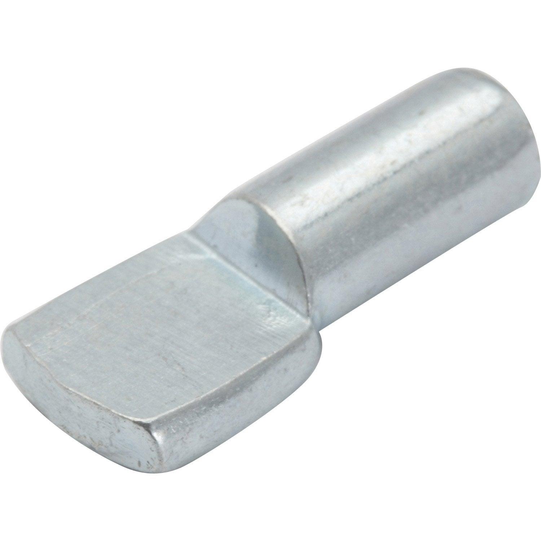 Lot de 60 taquets enfoncer acier chrom diam 5 mm for Prix decoupe verre leroy merlin