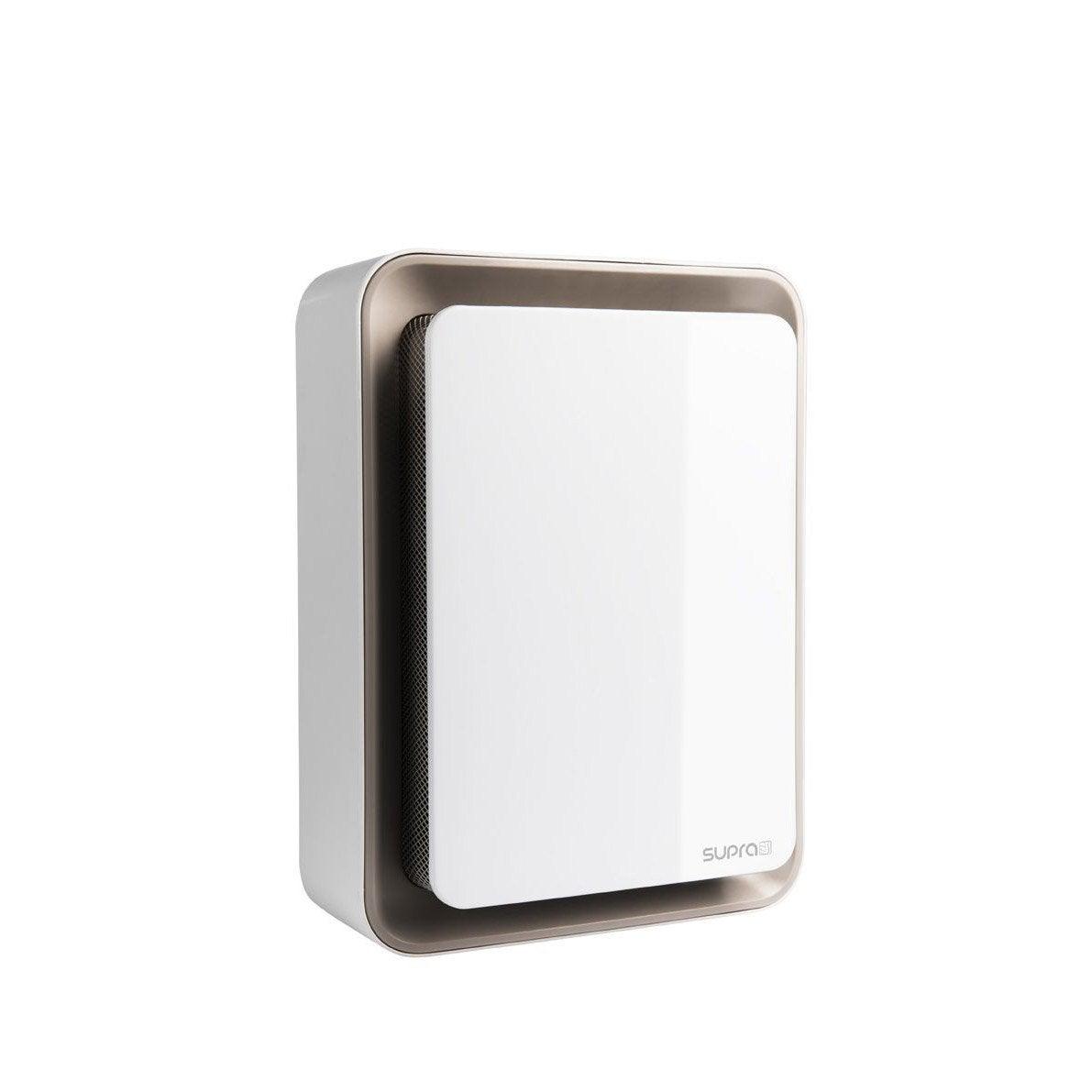 Radiateur soufflant lectrique supra zitto 11 blanc taupe for Chauffage d appoint pour salle de bain