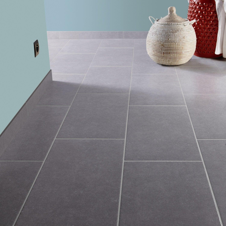 Carrelage sol et mur gris clair effet pierre bruges x for Couleur mur avec carrelage gris