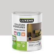 Peinture gris galet 6 LUXENS Couleurs intérieures satin 0.5 l