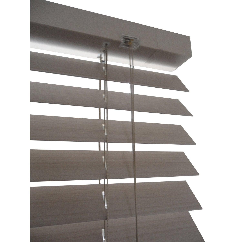 store v nitien pvc naturel x cm leroy merlin. Black Bedroom Furniture Sets. Home Design Ideas