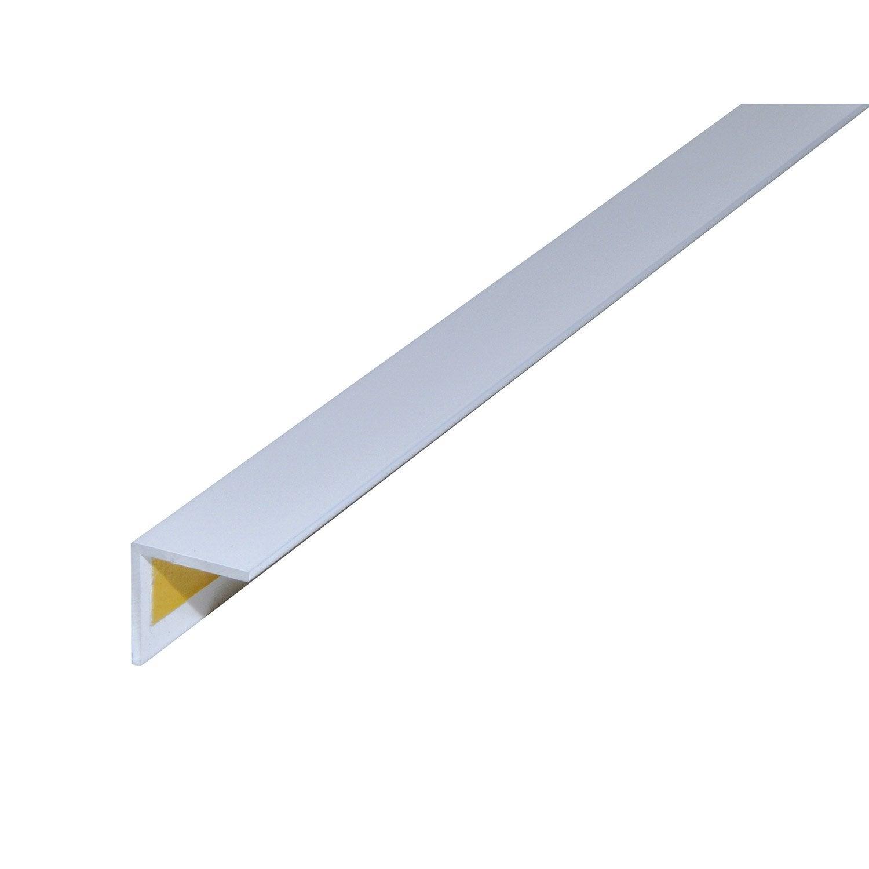 Corni re gale aluminium poxy l 2 m x l 2 cm x h 2 cm leroy merlin - Corniere alu leroy merlin ...
