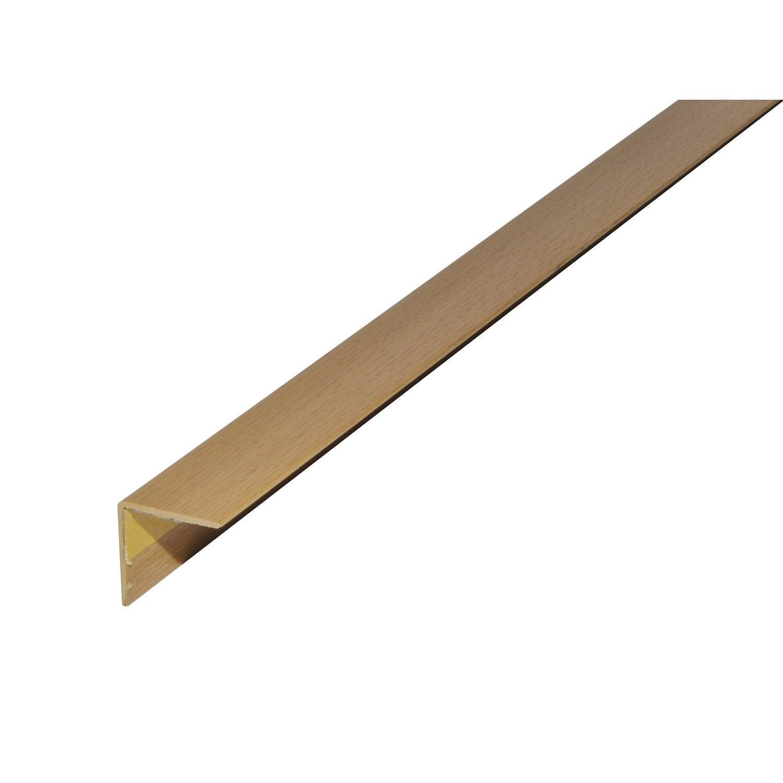 corni re gale pvc mat l 2 5 m x l 2 cm x h 2 cm leroy merlin. Black Bedroom Furniture Sets. Home Design Ideas