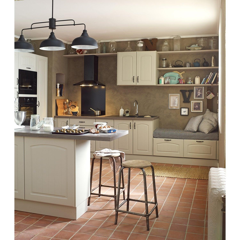 Joue colonne de cuisine chanvre ol ron l65 x h200 cm leroy merlin - Cuisine complete leroy merlin ...