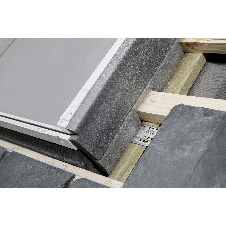 Raccord pour fen tre de toit velux el mk06 6000 gris for Pose fenetre de toit leroy merlin