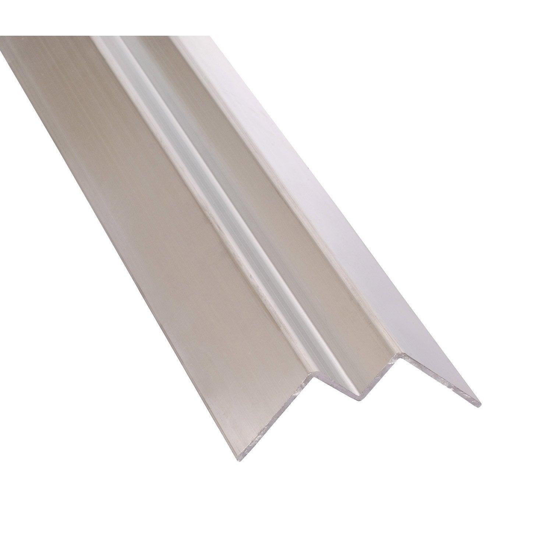 angle int rieur aluminium 12 x 77 2 7 m leroy merlin. Black Bedroom Furniture Sets. Home Design Ideas