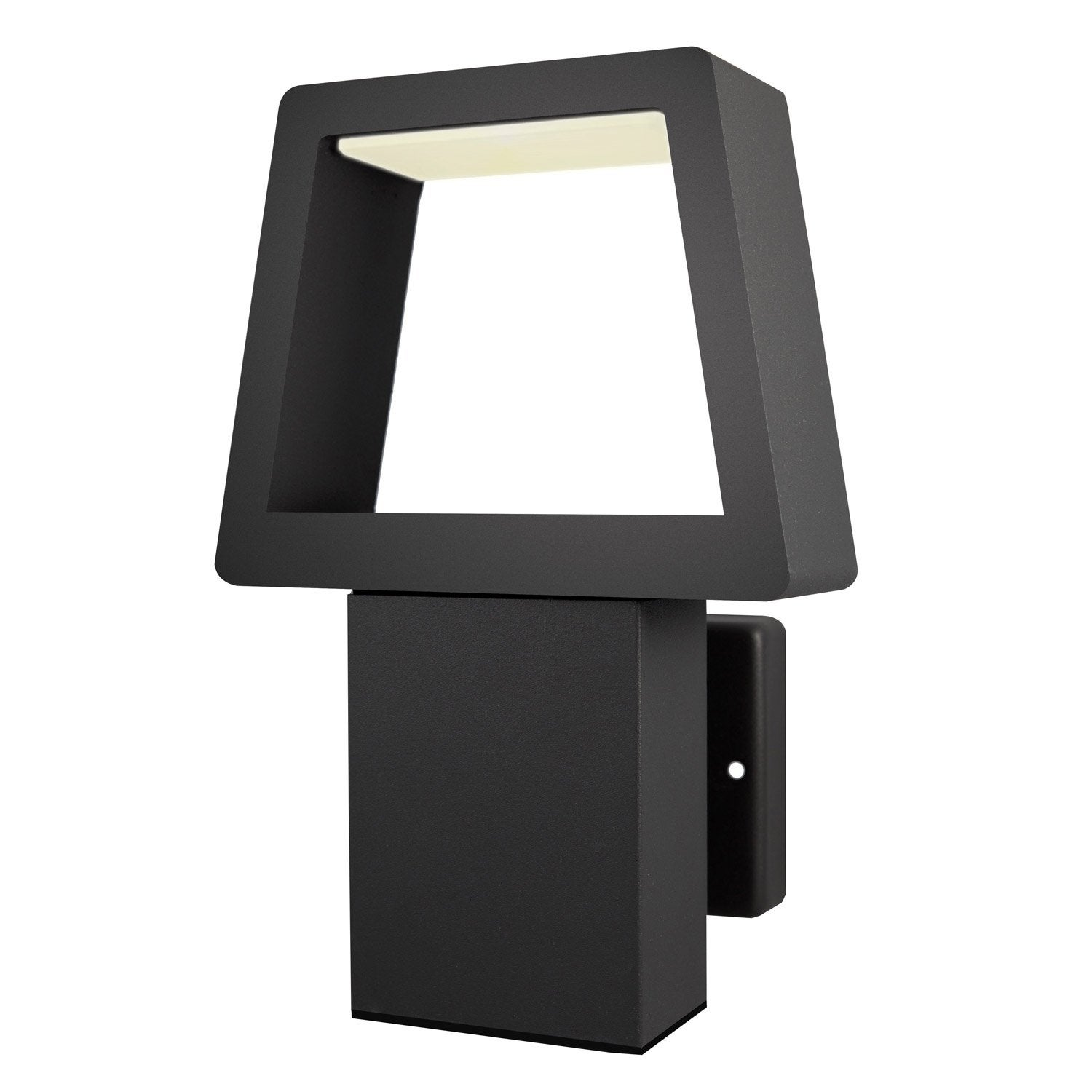 applique ext rieure triangle led int gr e 450 lm. Black Bedroom Furniture Sets. Home Design Ideas