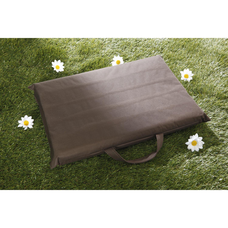 Coussin de jardinage coloris marron geolia leroy merlin - Leroy merlin jardinage lognes ...