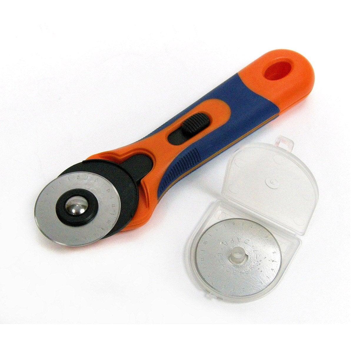 cutter rotatif 195 mm avec 2 lames dexter leroy merlin. Black Bedroom Furniture Sets. Home Design Ideas