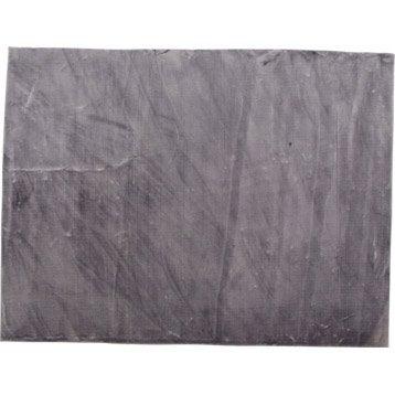 tapis gala argent 160x120 cm leroy merlin. Black Bedroom Furniture Sets. Home Design Ideas