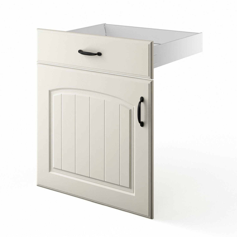 Porte et tiroir de cuisine chanvre ol ron x x p for Porte 60 x 120