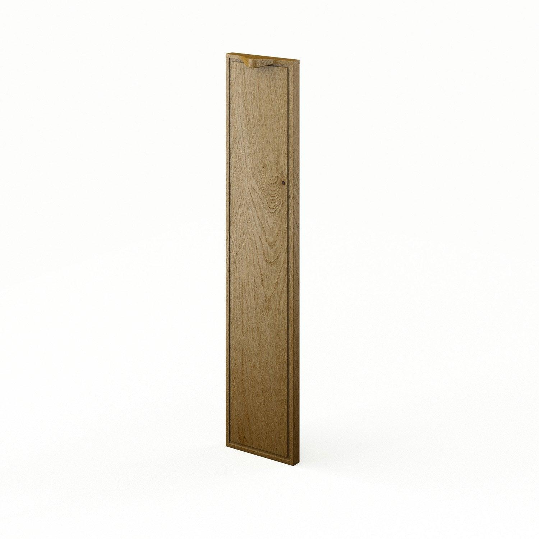 Porte de cuisine ch ne origine x cm leroy merlin for Porte 70 cm de large