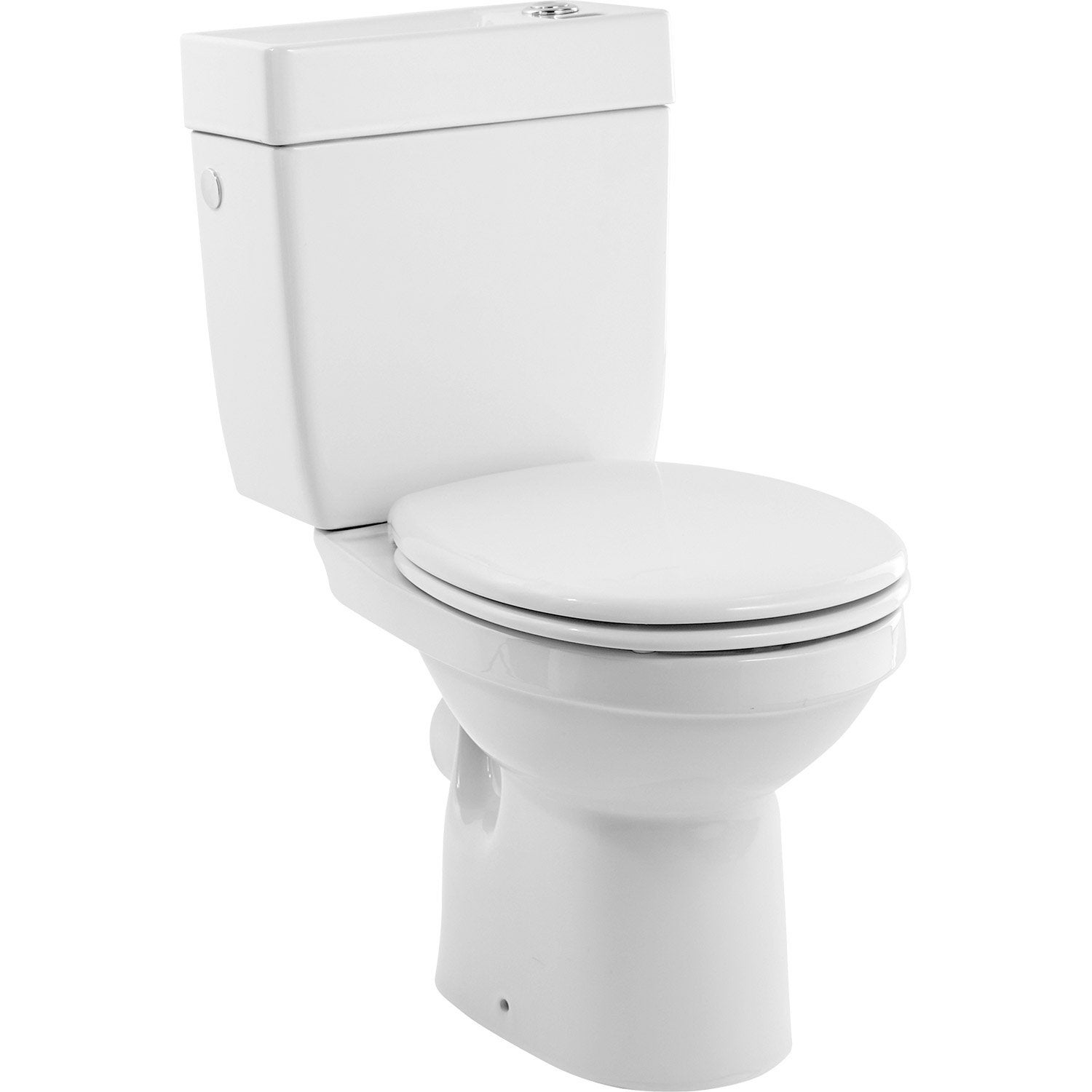 Pack wc poser orion sortie horizontale leroy merlin for Petit toilette leroy merlin
