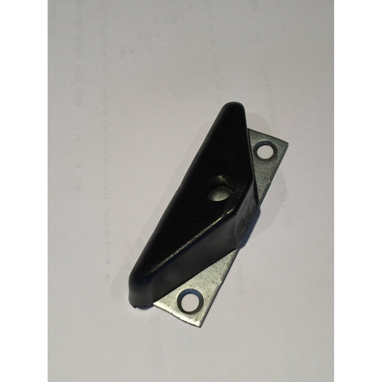 Demi sabot sur platine pour porte de garage coulissante for Porte de garage sectionnelle leroy merlin sur mesure