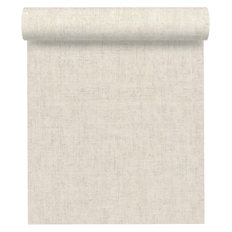 papier peint intiss ginkgo blanc leroy merlin. Black Bedroom Furniture Sets. Home Design Ideas