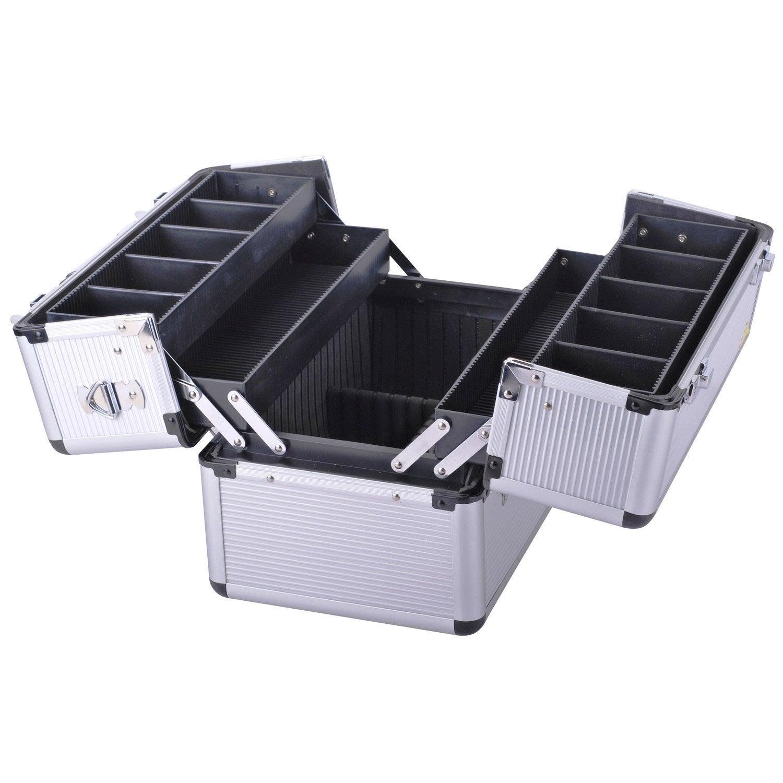 Valise outils accord on dexter en aluminium 36 5 cm for Malette aluminium leroy merlin