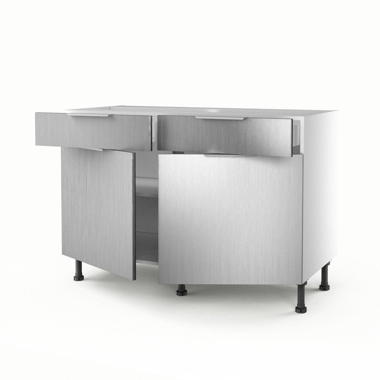 meuble bas cuisine moins cher pin meuble bas de cuisine rouge pas ... - Meuble Bas Cuisine 3 Tiroirs
