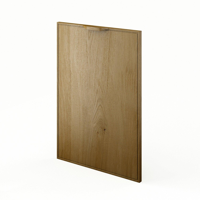 porte de cuisine ch ne f50 origine l50 x h70 cm leroy merlin. Black Bedroom Furniture Sets. Home Design Ideas