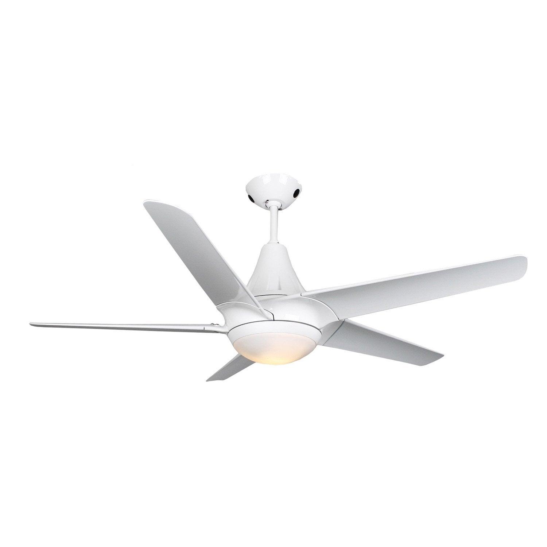 ventilateur de plafond rafaela inspire blanc 80 watts leroy merlin. Black Bedroom Furniture Sets. Home Design Ideas